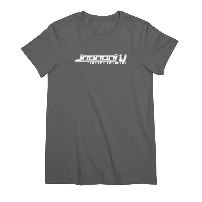 Jabroni U Network Logo - White Women's T-Shirt by Jabroni U Network Store