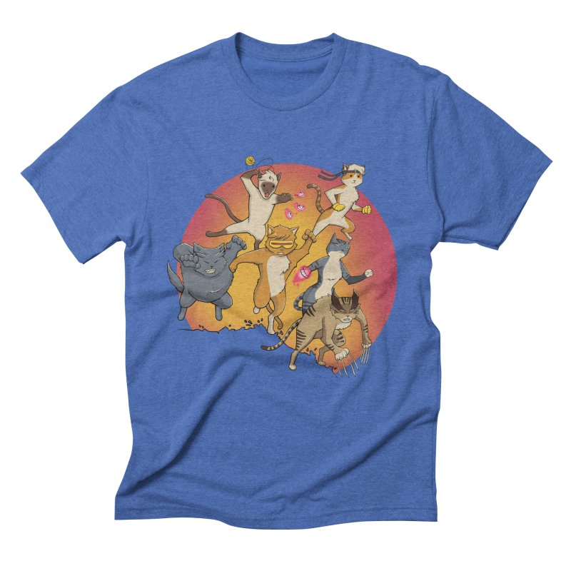 Uncanny X-Cats Men's T-Shirt by Jacey Chase