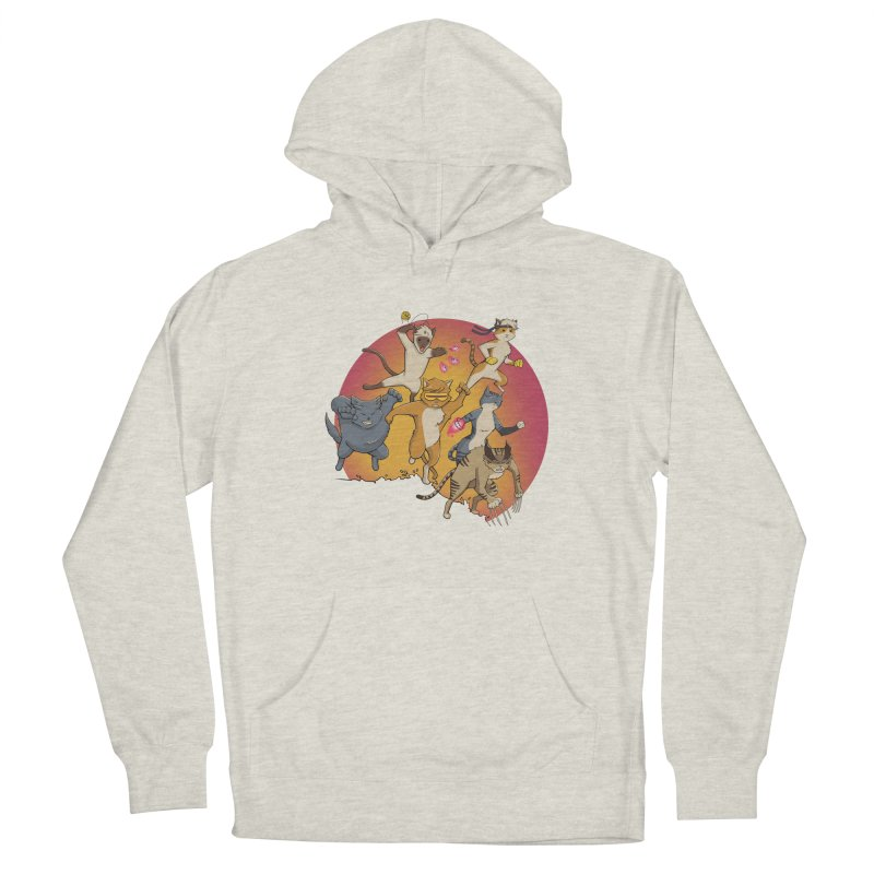 Uncanny X-Cats Women's Pullover Hoody by Jacey Chase