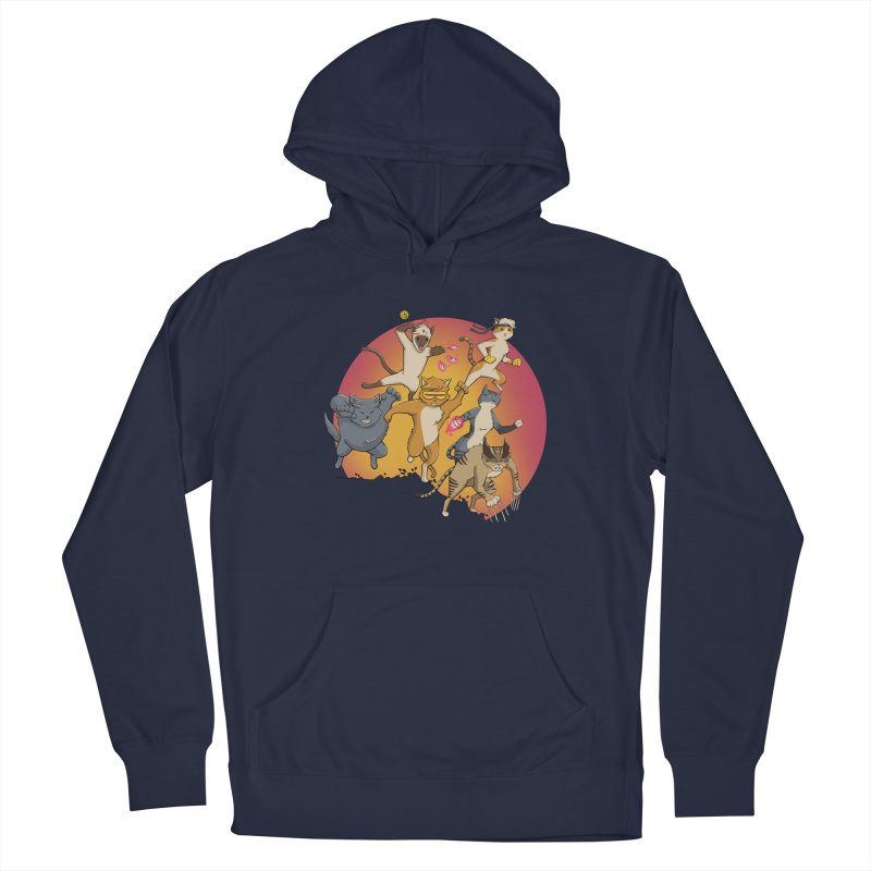 Uncanny X-Cats Men's Pullover Hoody by Jacey Chase