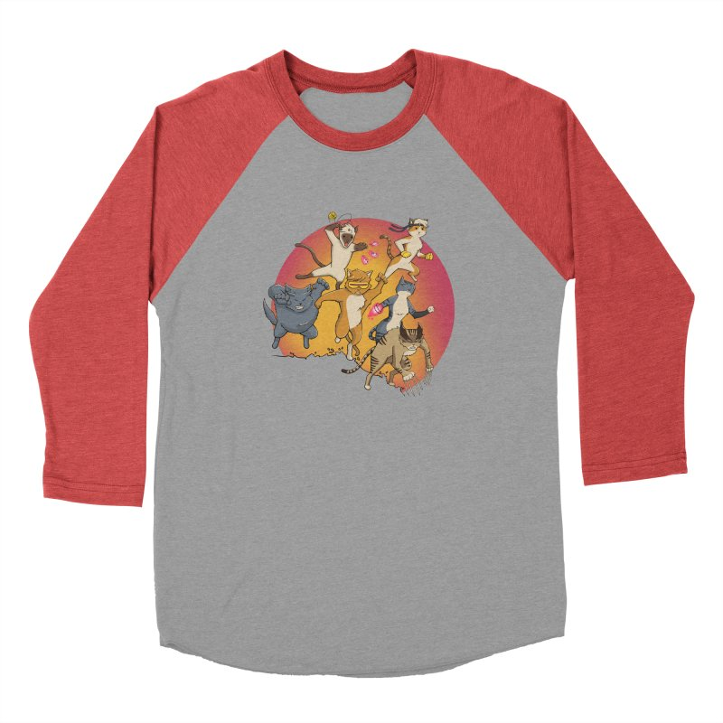 Uncanny X-Cats Men's Longsleeve T-Shirt by Jacey Chase