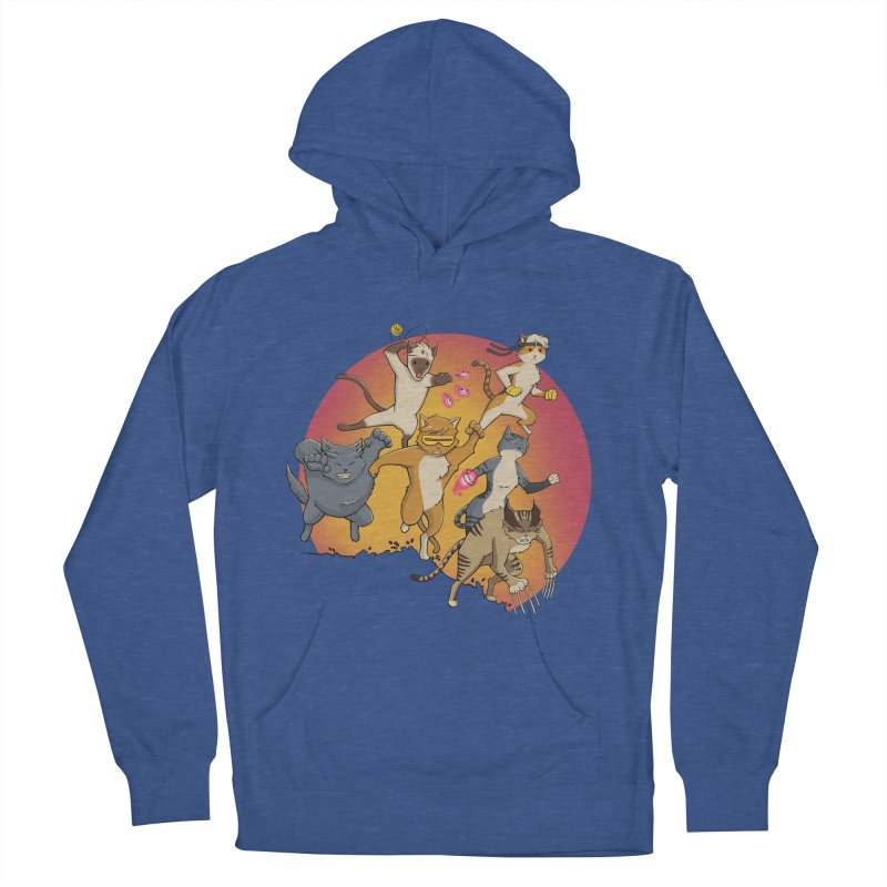 Uncanny X-Cats Women's French Terry Pullover Hoody by Jacey Chase