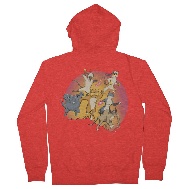 Uncanny X-Cats Women's Zip-Up Hoody by Jacey Chase