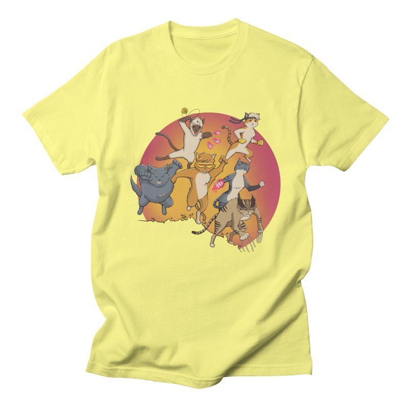 Uncanny X-Cats Men's Regular T-Shirt by Jacey Chase