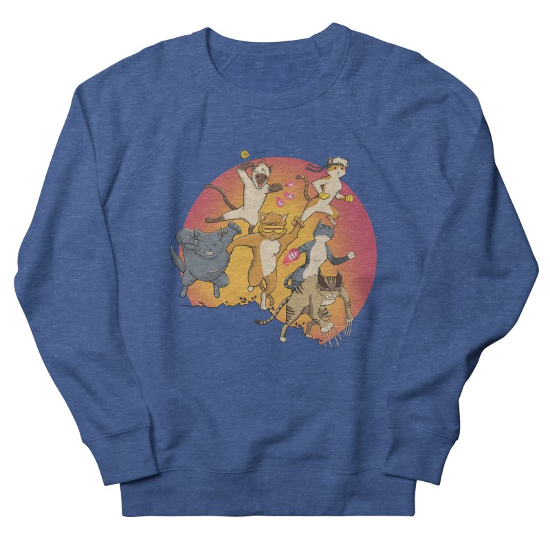 Uncanny X-Cats Women's French Terry Sweatshirt by Jacey Chase