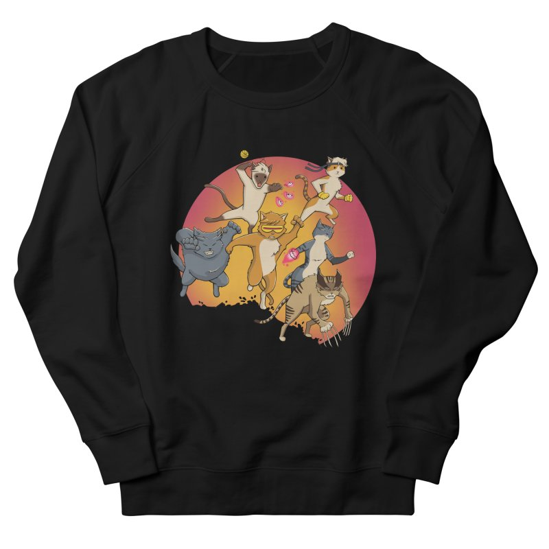Uncanny X-Cats Women's Sweatshirt by Jacey Chase