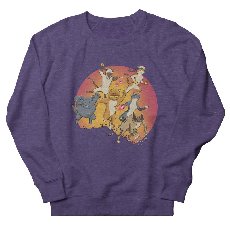 Uncanny X-Cats Men's Sweatshirt by Jacey Chase