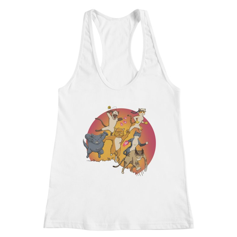 Uncanny X-Cats Women's Tank by Jacey Chase