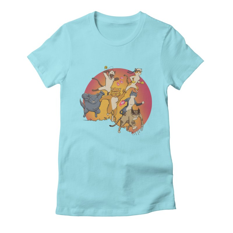 Uncanny X-Cats Women's T-Shirt by Jacey Chase