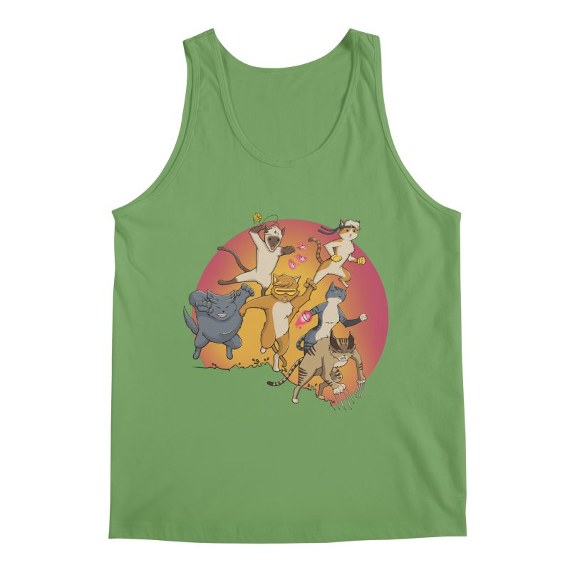 Uncanny X-Cats Men's Tank by Jacey Chase