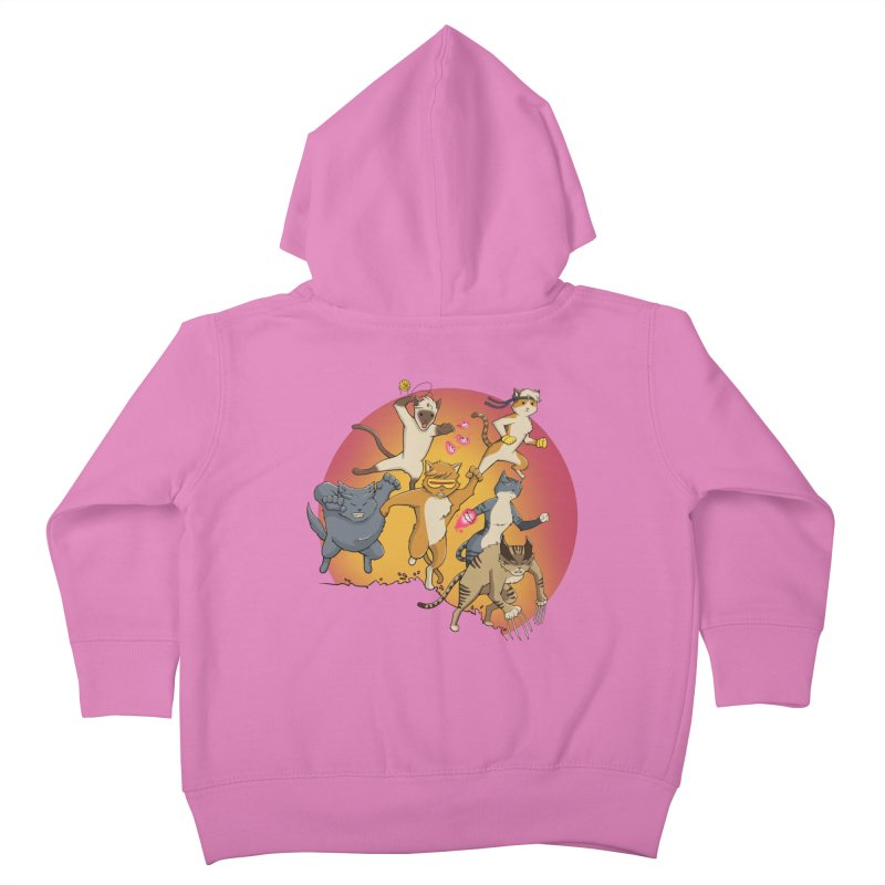 Uncanny X-Cats Kids Toddler Zip-Up Hoody by Jacey Chase