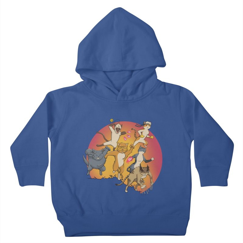 Uncanny X-Cats Kids Toddler Pullover Hoody by Jacey Chase
