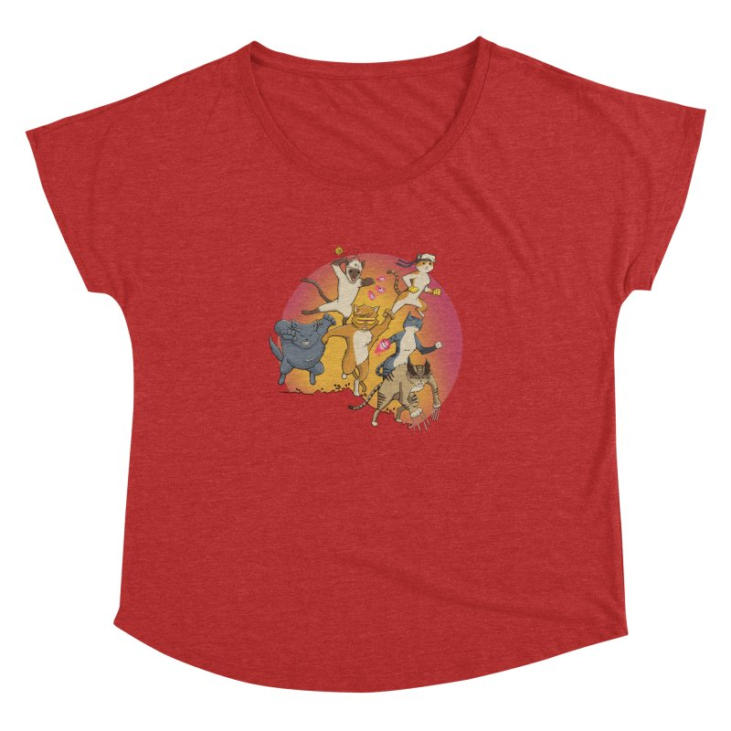 Uncanny X-Cats Women's Dolman by Jacey Chase