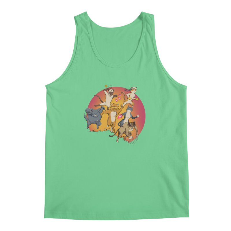 Uncanny X-Cats Men's Regular Tank by Jacey Chase