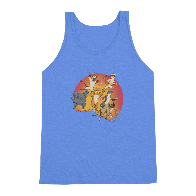 Uncanny X-Cats Men's Triblend Tank by Jacey Chase
