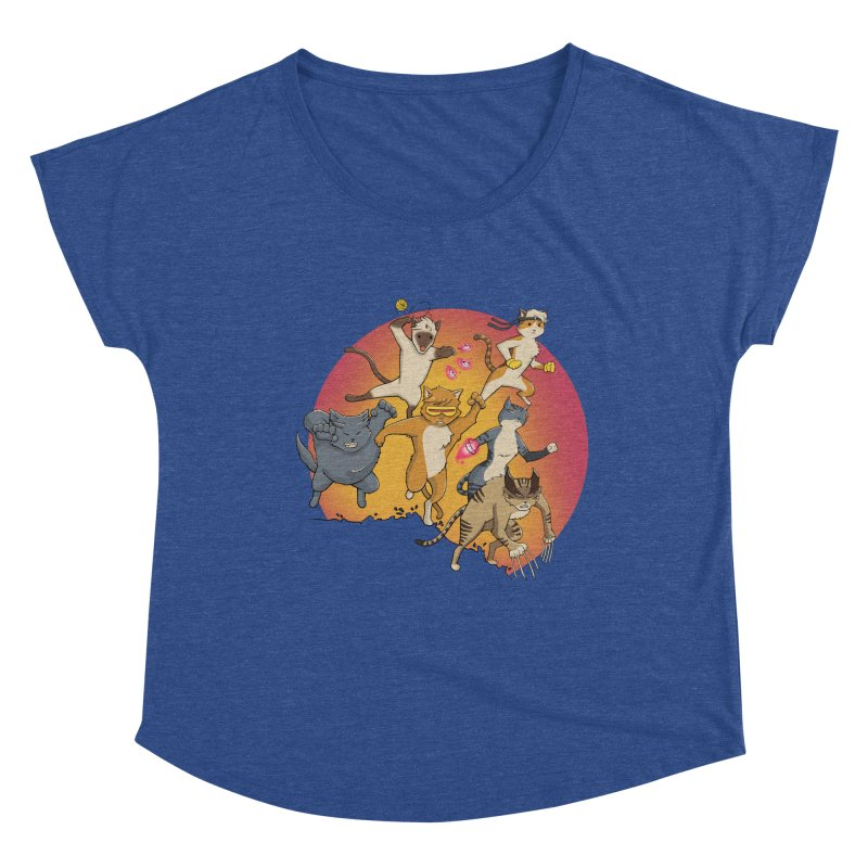 Uncanny X-Cats Women's Scoop Neck by Jacey Chase