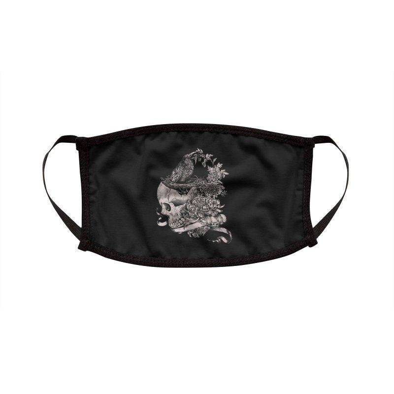 Crow Accessories Face Mask by jackduarte's Artist Shop