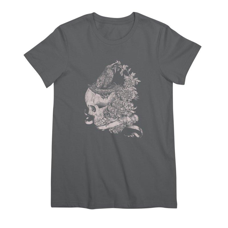 Crow Women's Premium T-Shirt by jackduarte's Artist Shop