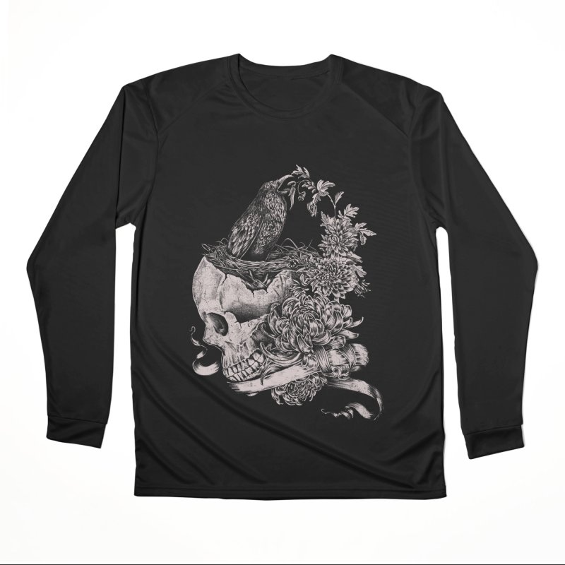 Crow Men's Performance Longsleeve T-Shirt by jackduarte's Artist Shop