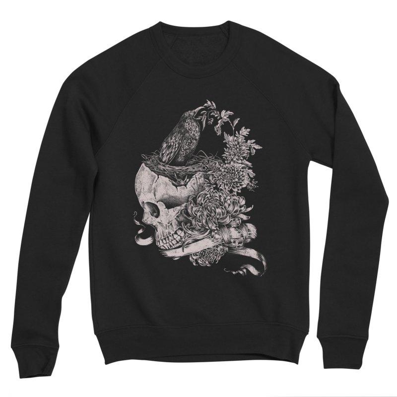Crow Women's Sponge Fleece Sweatshirt by jackduarte's Artist Shop