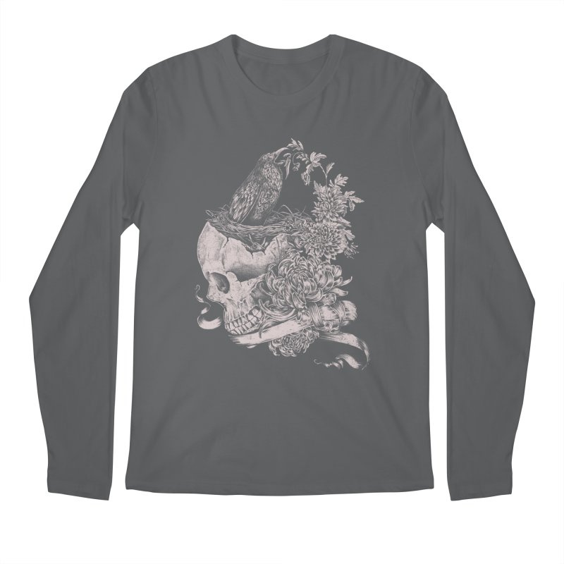 Crow Men's Longsleeve T-Shirt by jackduarte's Artist Shop