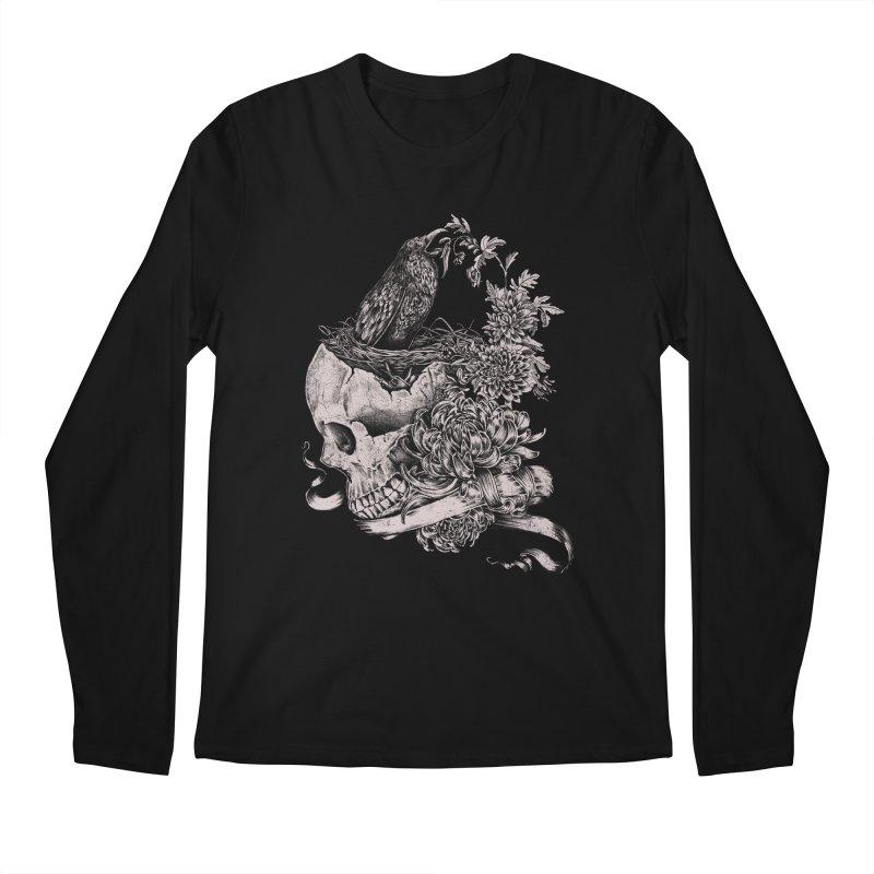 Crow Men's Regular Longsleeve T-Shirt by jackduarte's Artist Shop