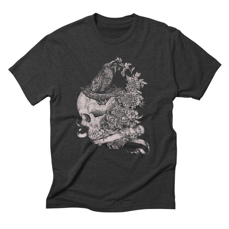 Crow Men's Triblend T-Shirt by jackduarte's Artist Shop