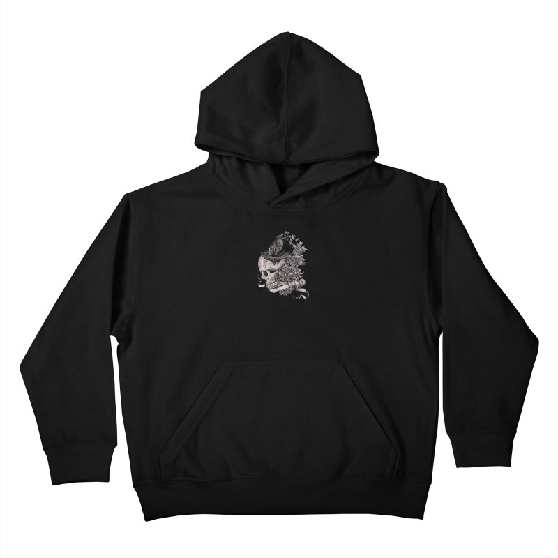 Crow Kids Pullover Hoody by jackduarte's Artist Shop
