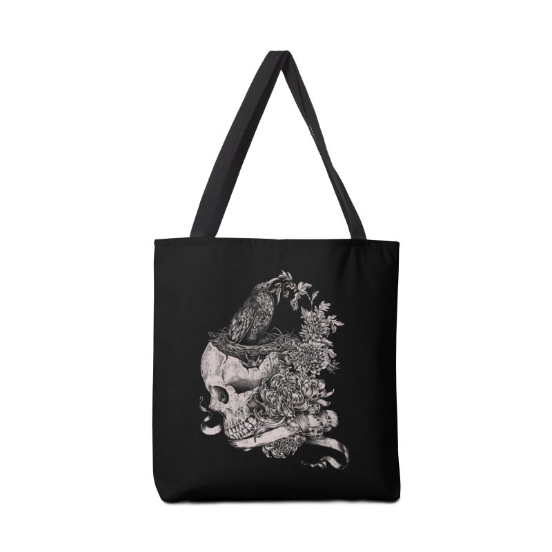 Crow Accessories Tote Bag Bag by jackduarte's Artist Shop
