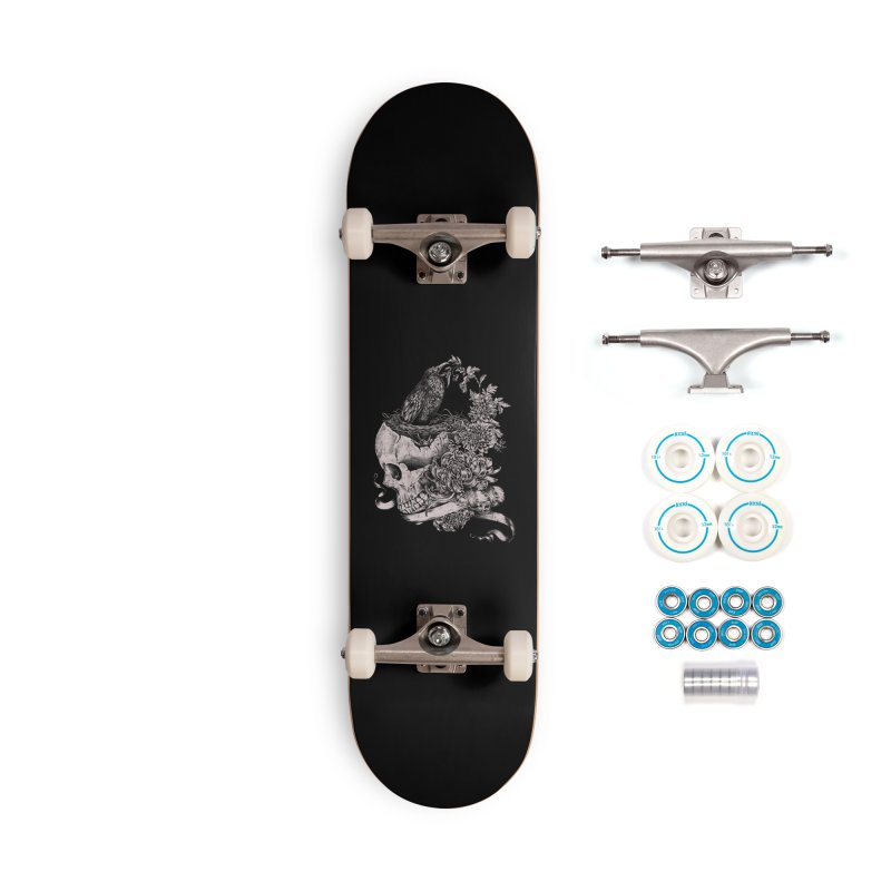 Crow Accessories Complete - Basic Skateboard by jackduarte's Artist Shop
