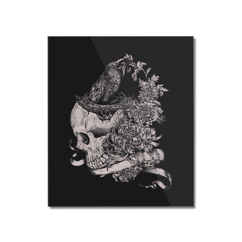Crow Home Mounted Acrylic Print by jackduarte's Artist Shop