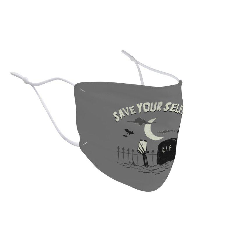 Save your selfie Accessories Face Mask by jackduarte's Artist Shop