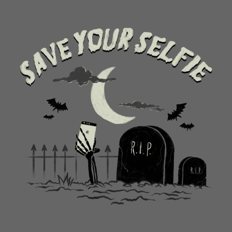 Save your selfie Women's Scoop Neck by jackduarte's Artist Shop