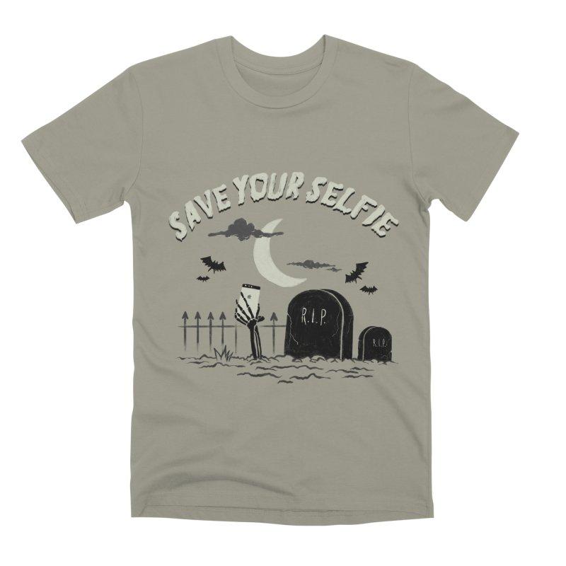 Save your selfie Men's Premium T-Shirt by jackduarte's Artist Shop