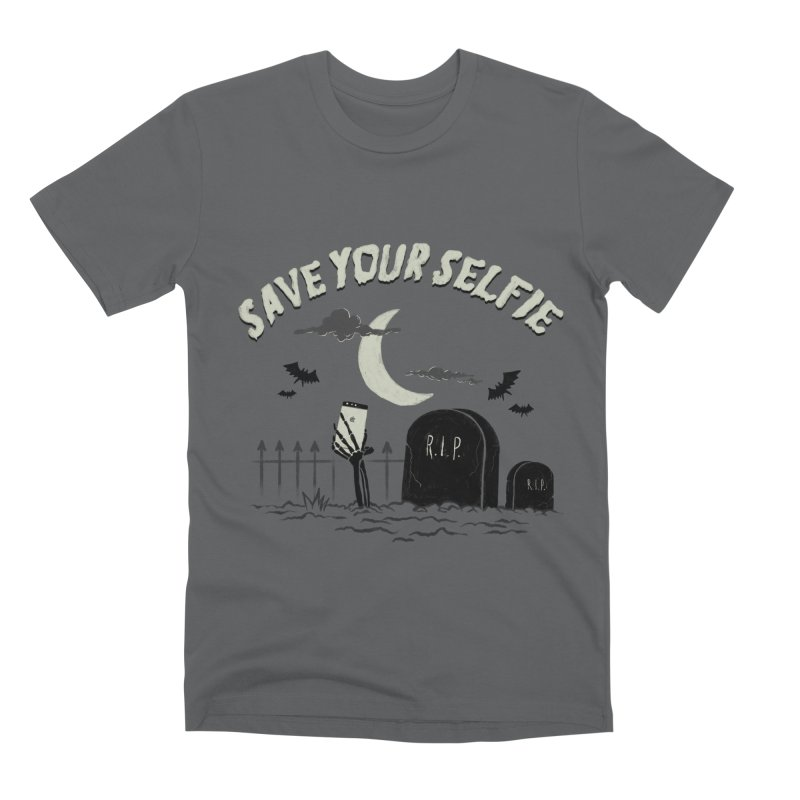 Save your selfie Men's T-Shirt by jackduarte's Artist Shop