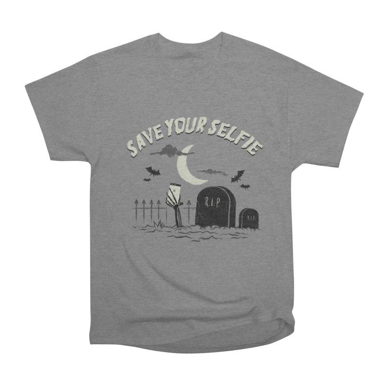 Save your selfie Women's Heavyweight Unisex T-Shirt by jackduarte's Artist Shop