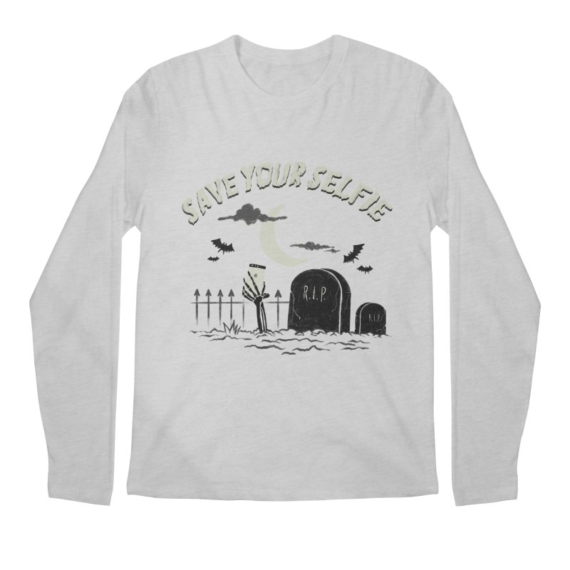 Save your selfie Men's Regular Longsleeve T-Shirt by jackduarte's Artist Shop