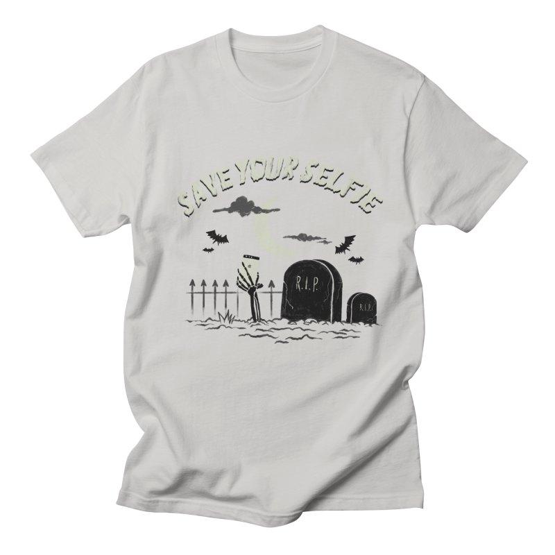 Save your selfie Men's Regular T-Shirt by jackduarte's Artist Shop