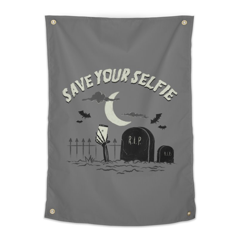 Save your selfie Home Tapestry by jackduarte's Artist Shop