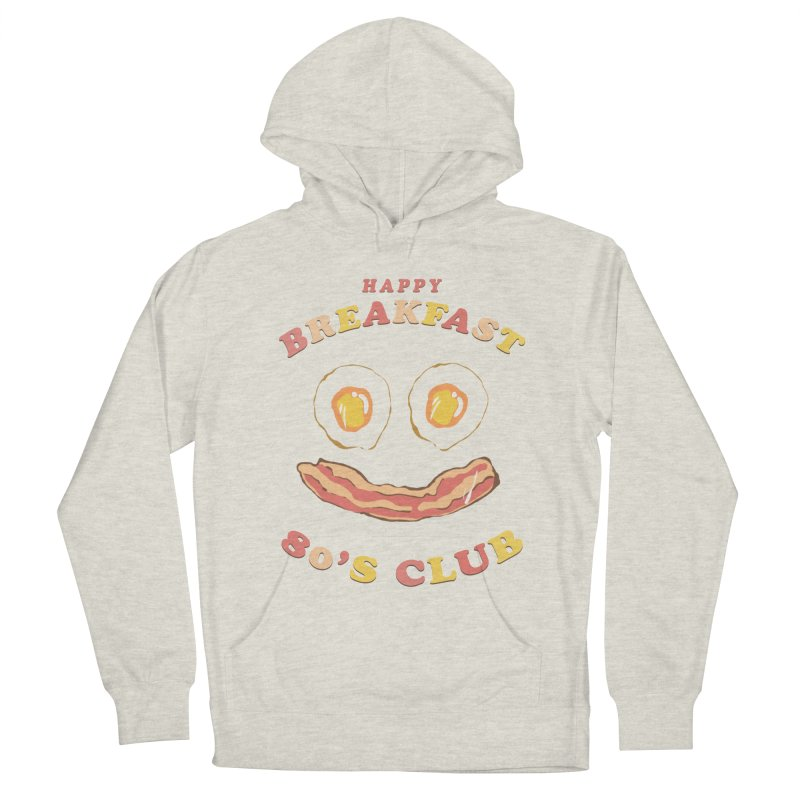 Happy breakfast Men's French Terry Pullover Hoody by jackduarte's Artist Shop