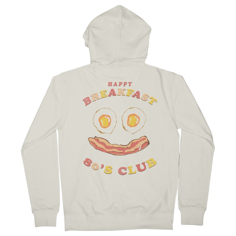 Happy breakfast Men's French Terry Zip-Up Hoody by jackduarte's Artist Shop