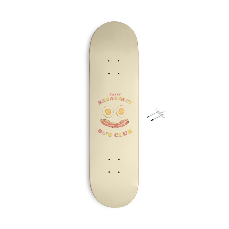 Happy breakfast Accessories With Hanging Hardware Skateboard by jackduarte's Artist Shop