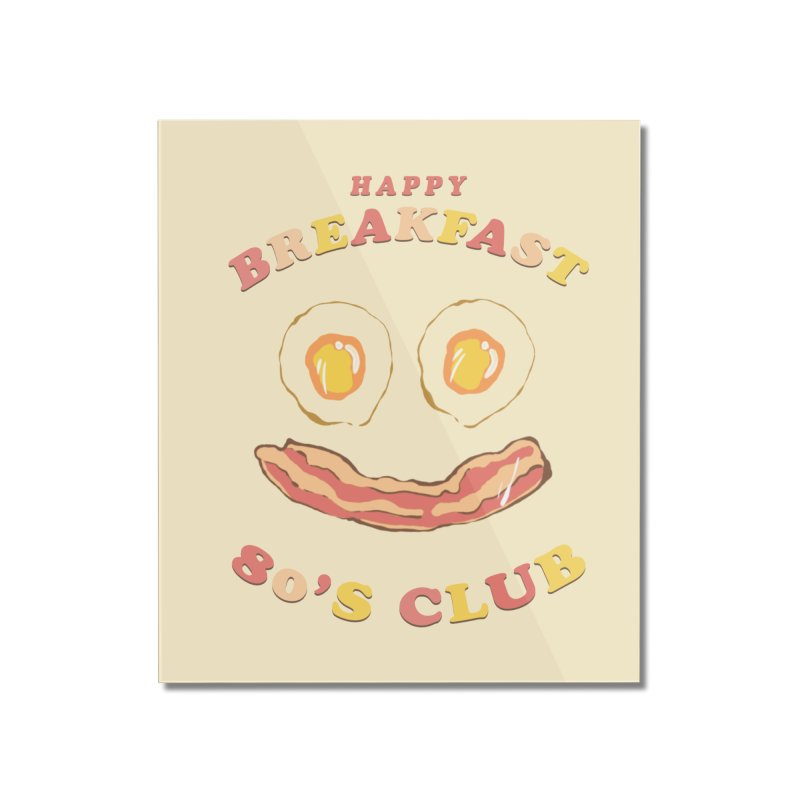 Happy breakfast Home Mounted Acrylic Print by jackduarte's Artist Shop