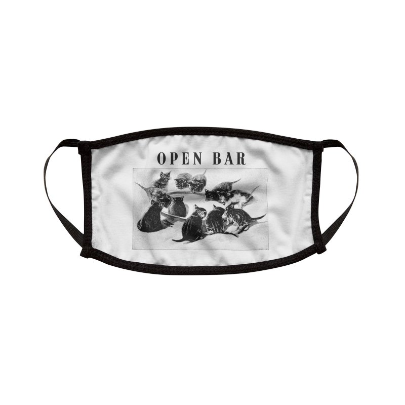 OPEN BAR Accessories Face Mask by jackduarte's Artist Shop