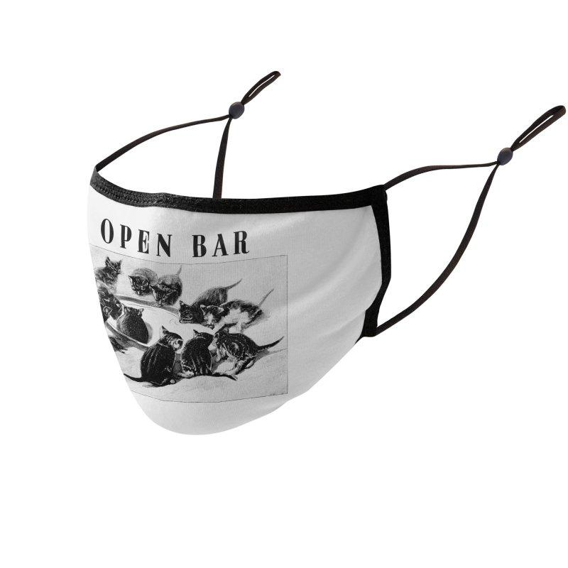 OPEN BAR Accessories Face Mask by jackduarte's Artist Shop