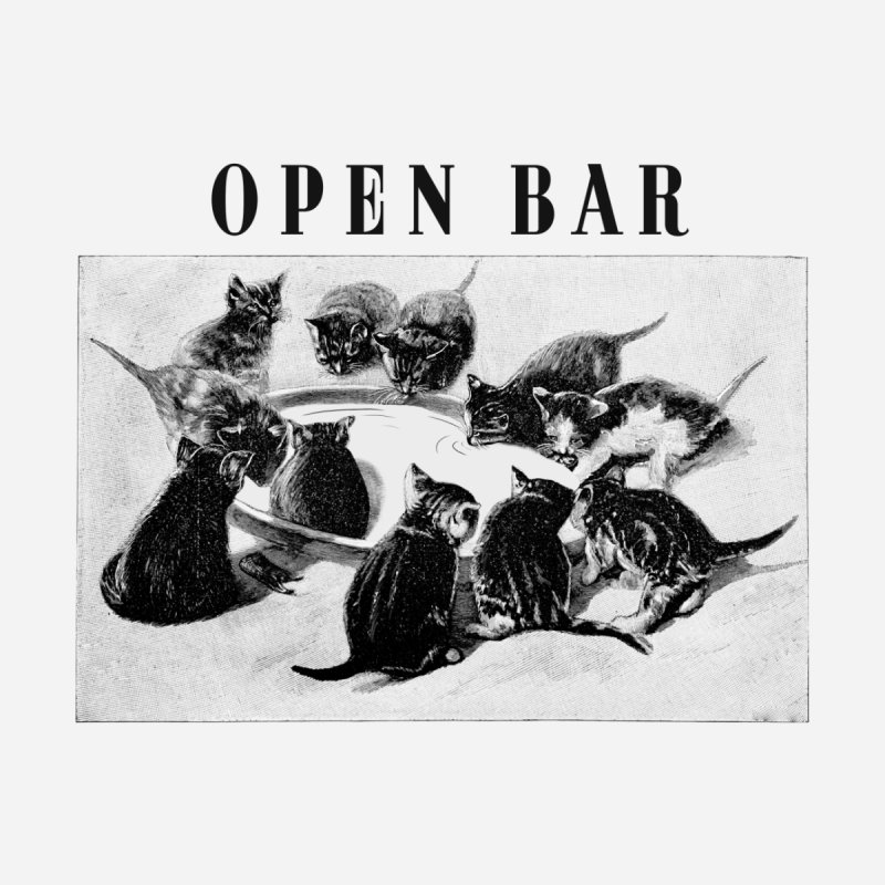 OPEN BAR Accessories Magnet by jackduarte's Artist Shop
