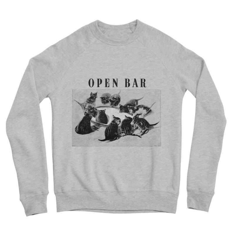 OPEN BAR Men's Sweatshirt by jackduarte's Artist Shop