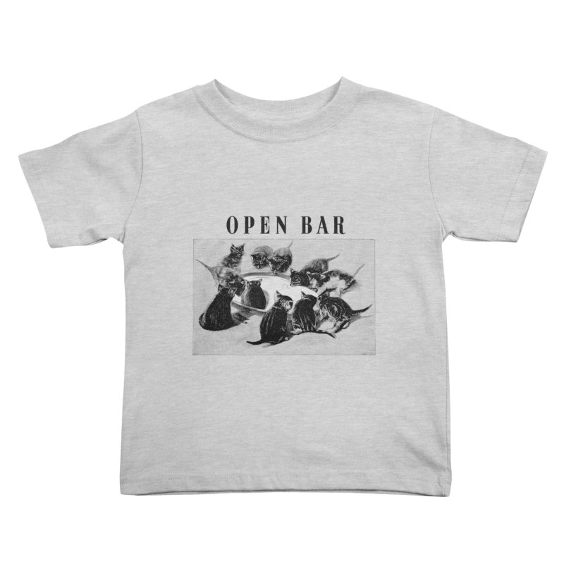 OPEN BAR Kids Toddler T-Shirt by jackduarte's Artist Shop