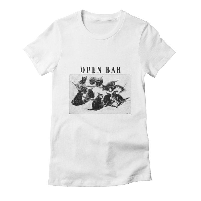 OPEN BAR Women's T-Shirt by jackduarte's Artist Shop