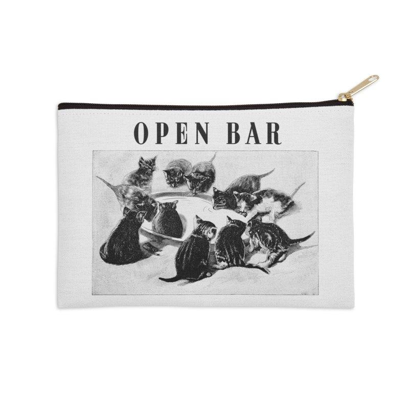 OPEN BAR Accessories Zip Pouch by jackduarte's Artist Shop